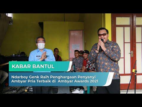 Ndarboy Genk Raih Penghargaan Penyanyi Ambyar Pria Terbaik di Ambyar Awards 2021 | Kabar Bantul