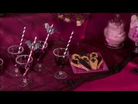 """Halloween alkoholfreier Cocktail """"Muguet Violette"""""""