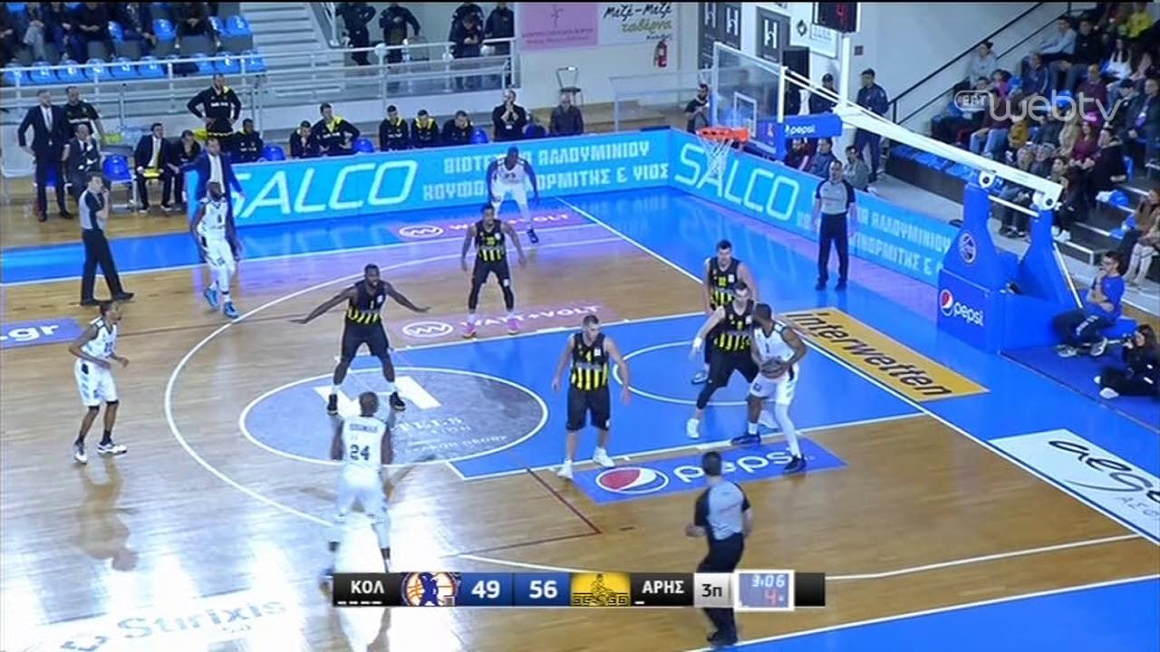 Basket League 2019-2020: ΚΟΛΟΣΣΟΣ – ΑΡΗΣ | HIGHLIGHTS | 29/02/2020 | ΕΡΤ