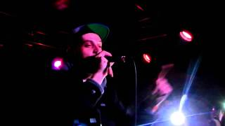 "Evidence Performing ""The Red Carpet"" Live At Slidebar in Fullerton 1/15/12"