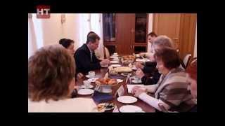Председатель Новгородской областной думы Елена Писарева встретилась с представителями общественных организаций