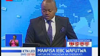 Mwenyekiti wa tume ya IEBC Wafula Chebukati apendekeza usimamishaji wa makamishna wa IEBC