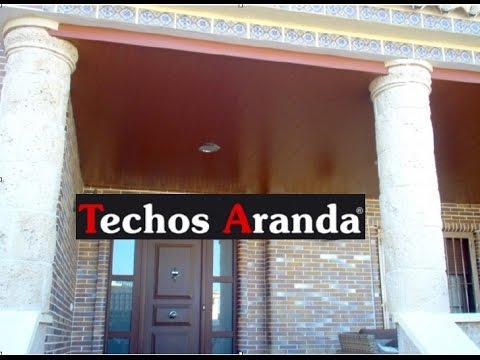 Techos de aluminio en Fuentes De Ebro - TechosDeAluminio.com