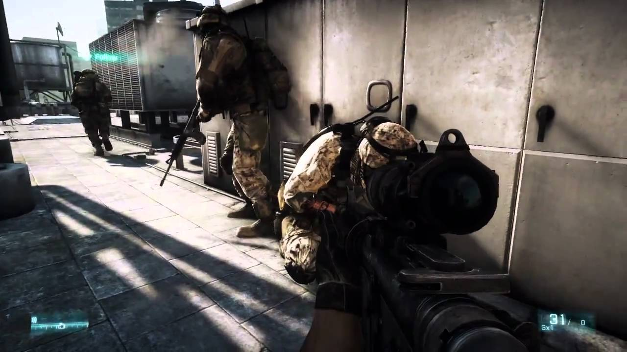 Here's 12 Minutes Of Battlefield 3 Gameplay, No Facebook Strings Attached