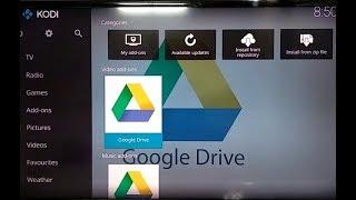 การติดตั้ง Kodi ภาษาไทย และ Google Drive Add-On บน Android TV / Mi