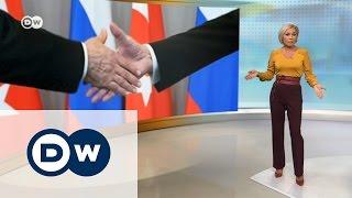"""Путин у Эрдогана: что стоит за """"дружбой"""" двух политиков – DW Новости (11.10.2016)"""