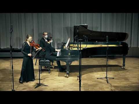 L.Beethoven - Sonata for Violin and Piano No. 7 in C minor   Piano: Elene Quobulashvili Violin: Tatiana Zueva