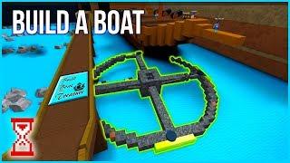 Построил Колесо обозрения в Кораблях Роблокс | Roblox Build A Boat