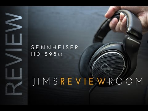 Sennheiser HD 598se Open Back Headphones - REVIEW
