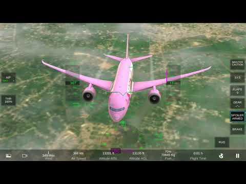 Boeing 787-8 New Flight Simulator Mobile - Real Flight