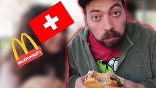 Dünyanın En Pahalı Ülkesinde McDonalds'a Gidip Türkiye'de Olmayan Ne Varsa Yedim!