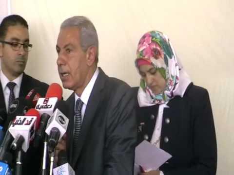كلمة الوزير/طارق قابيل خلال احتفالية تسليم 18 سيارة مبردة للشباب