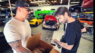 FAST & FURIOUS LAMBORGHINI REPAIR, OVERNIGHT PARTS FROM ...