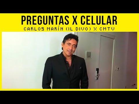 Il Divo video #Preguntas x celular  - Carlos Marín - Argentina 2017