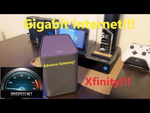 Gigabit Internet + XB6 Advance Gateway From Xfinity!!!