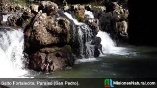 preview picture of video 'Salto Fortalecita, Paraíso (San Pedro). Misiones Natural'