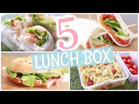 📚 BACK TO SCHOOL : 5 lunch box pour l'école