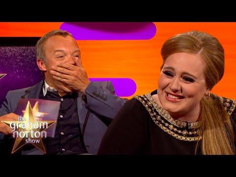 Adele o setkání s Jennifer Aniston a Alan Cumming o setkání s Adele - The Graham Norton Show