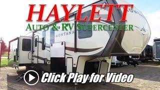 HaylettRV.com - 2017 Keystone Montana 3950BR Middle Bunkhouse Fifth Wheel Luxury RV