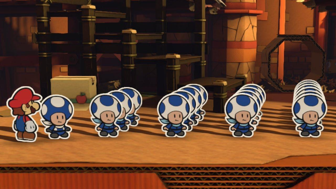 All Blue Toad Rescue Squad Locations - Paper Mario: Color