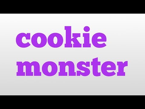 Cookie Monster Meaning And Pronunciation
