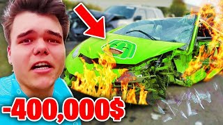 6 Most EXPENSIVE Things YouTubers Have DESTROYED! (Jelly, MrBeast, Preston, Morgz)