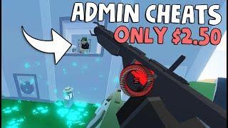 ADMIN CHEAT COMMANDS for $2.50 ! RAIDING ADMIN HOTEL! | Unturned