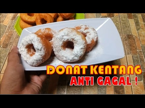 Cara Membuat Donat Kentang Anti GAGAL