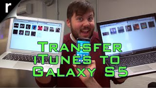 How to transfer music from iTunes to the Samsung Galaxy S5