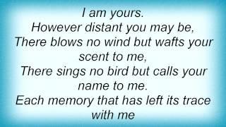 Eric Clapton - I Am Yours Lyrics
