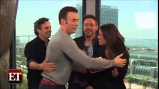 The Avengers Hilarious Cast Moments Compilation 2