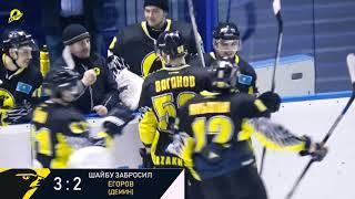 Обзор второго матча «Темиртау» - «Горняк» 5:2
