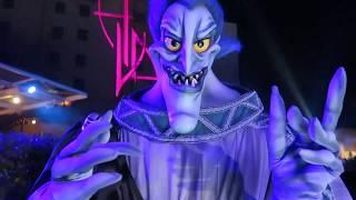 RARE Disney Villains come out to meet !
