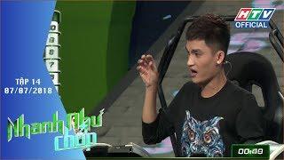 HTV NHANH NHƯ CHỚP | Châu Đăng Khoa trở lại giành 20 triệu đồng | NNC #14 FULL | 7/7/2018