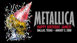 Metallica: Live in Dallas, Texas - August 3, 2000 (Full Concert)