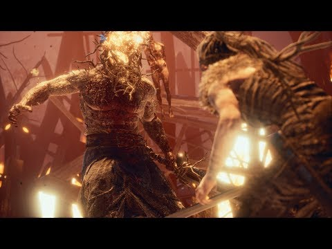 Hellblade: Senua's Sacrifice   Ragnarok Trailer   PS4 & PC thumbnail