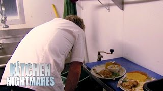 Chef Ramsay Spits Out Rotten Food; Shuts Down The Restaurant - Kitchen Nightmares