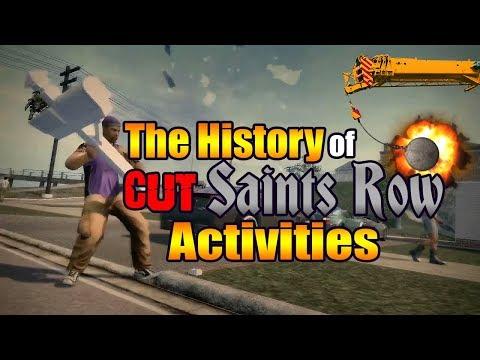 The History of Cut Saints Row Activities