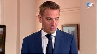 Великий Новгород посетил заместитель министра промышленности и торговли России Виктор Евтухов