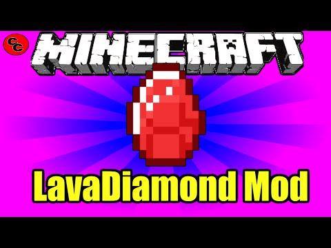 "Minecraft Mods:  "" LavaDiamond Mod  1. 7.10 """