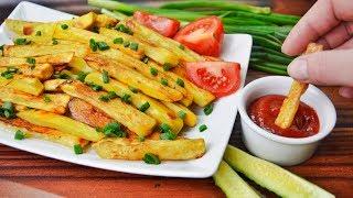 Картофель ФРИ в духовке - вкусно, просто и полезно