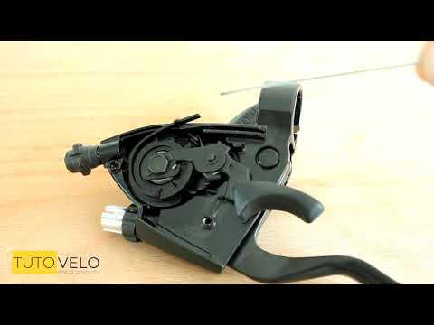 Extraction / installation câble de dérailleur shifter Shimano SIS TUTOVELO