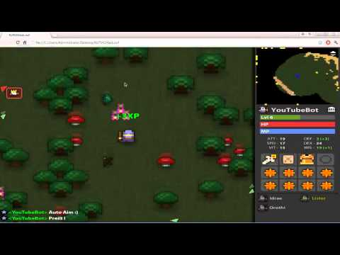 RotMG - hacker report on Kanemochi (autonexus,autoaim,reconnect