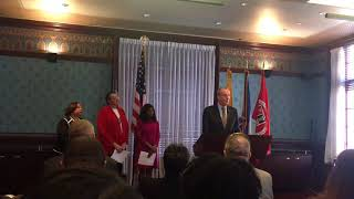 Murphy says his cabinet his most diverse in America