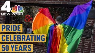 Pride: Celebrating 50 Years Since the Stonewall Uprising In New York City | NBC New York