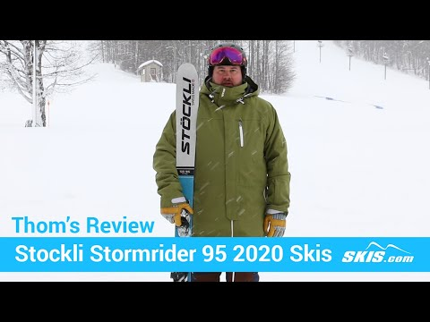 Video: Stockli Stormrider 95 Skis 2020 20 50
