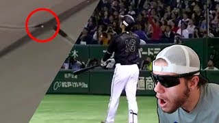 Reacting To Shohei Otani Highlights | He Hit It Through The Roof !