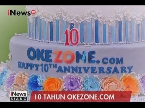 HUT 10 Tahun Okezone.com - iNews Siang 14/03