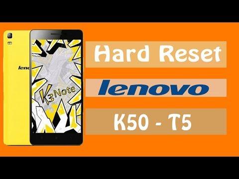 LENOVO K3 NOTE K50-T3S Hard Reset (Hard Reset Китайской