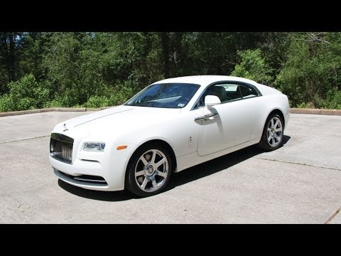 2014 Rolls Royce Wraith - Review in Detail, Start up, Exhaust Sound, and Test Drive
